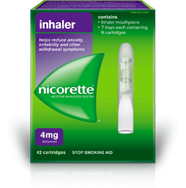 Nicorette Inhaler 4 mg Packaging