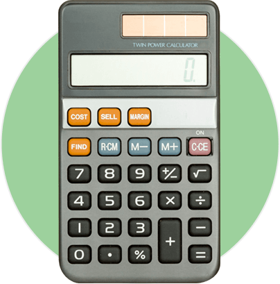 Calculator for budgeting